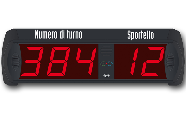 display eliminacode sportello