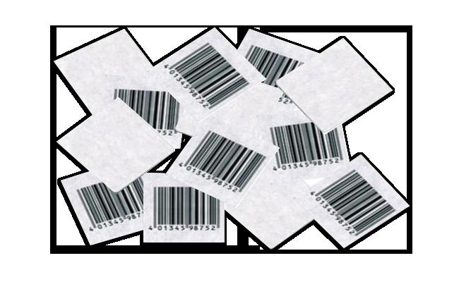 etichette RF